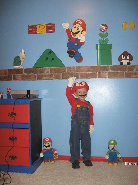 Poze MaxFun.ro » Super Mario fan