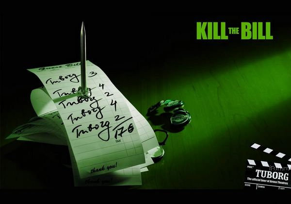 Poze MaxFun.ro » Tuborg - Kill the bill